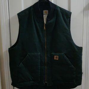 Hunter Green - Zip Up - Carhartt - Men's XL
